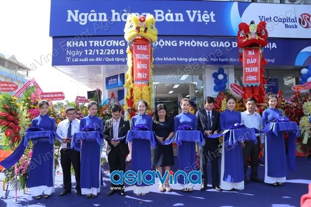 Lễ Khai Trương Phòng Giao Dịch Ngân Hàng Bản Việt  Bà Rịa Vũng Tàu